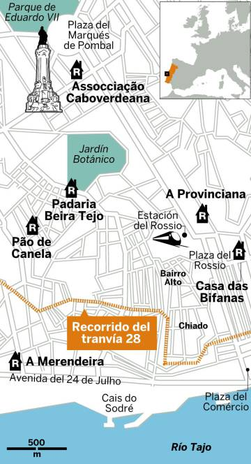 Seis tascas auténticas para comer rico y barato en Lisboa