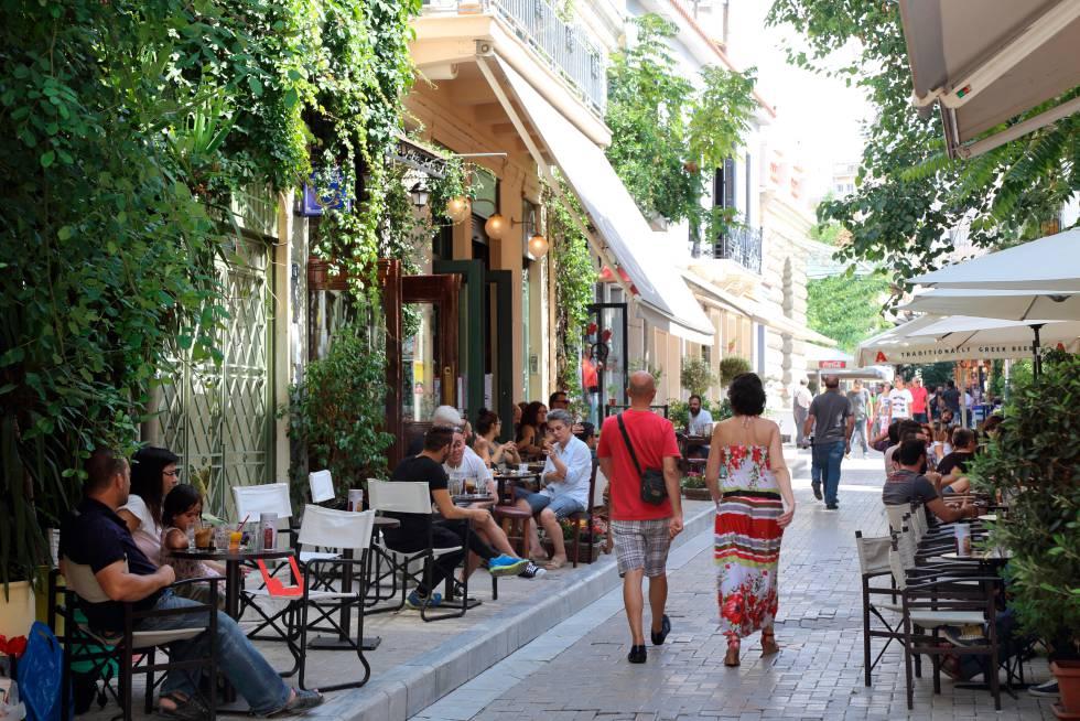 Psiri El Barrio De Moda En Atenas El Viajero El País