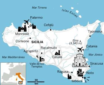 Itinerario de una semana en Sicilia