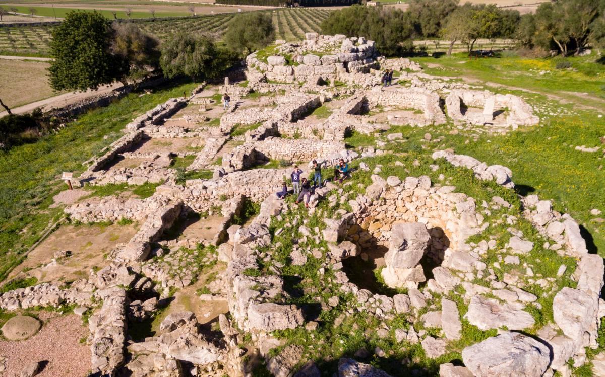 Yacimiento de Son Fornés, en Mallorca.