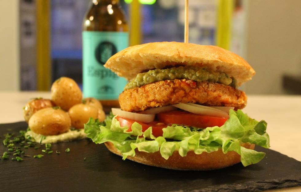 Las 15 mejores hamburguesas sin carne de Madrid