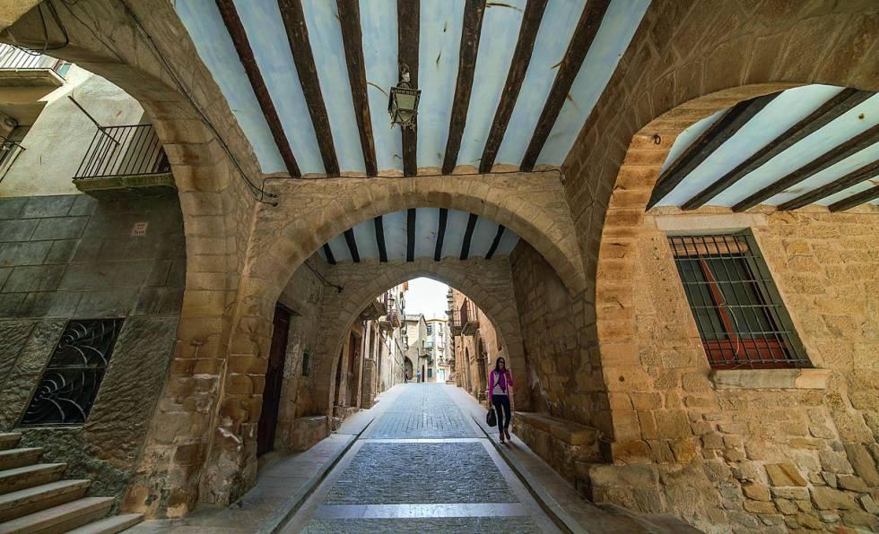 Pueblo de Calaceite, en Teruel.