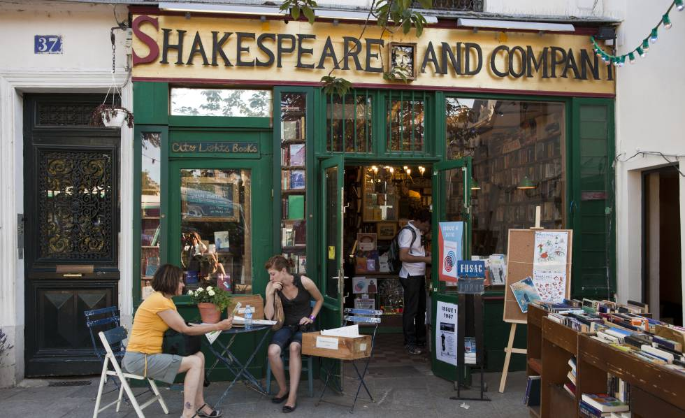 Librería Shakespeare and Company, en el Barrio Latino de París.