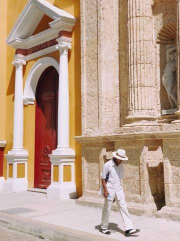 La catedral de Cartagena de Indias (Colombia).