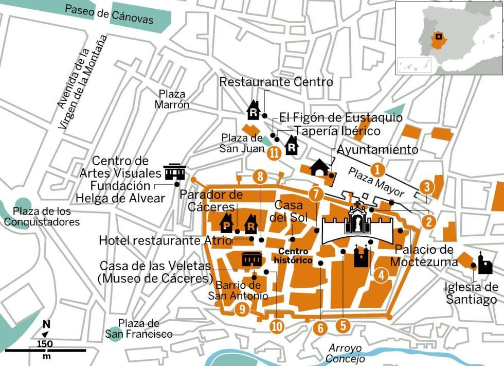 Cáceres, un viaje al siglo XV
