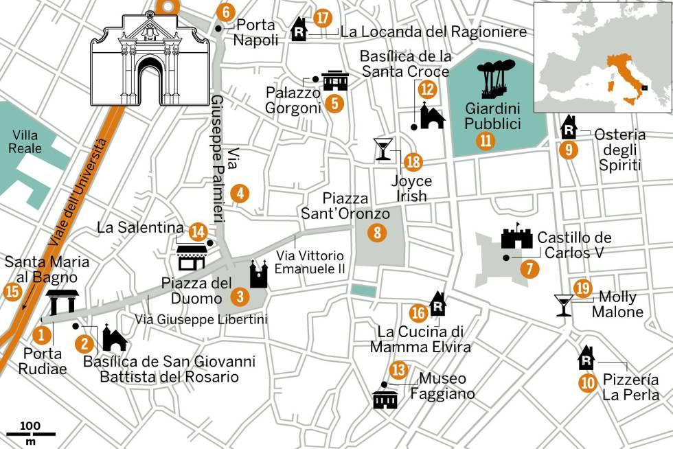 Lecce, la ciudad que inventó un estilo barroco propio