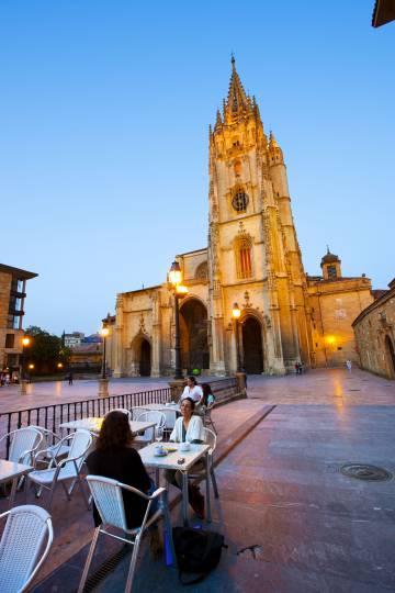 Catedral de San Salvador de Oviedo (Astúrias).