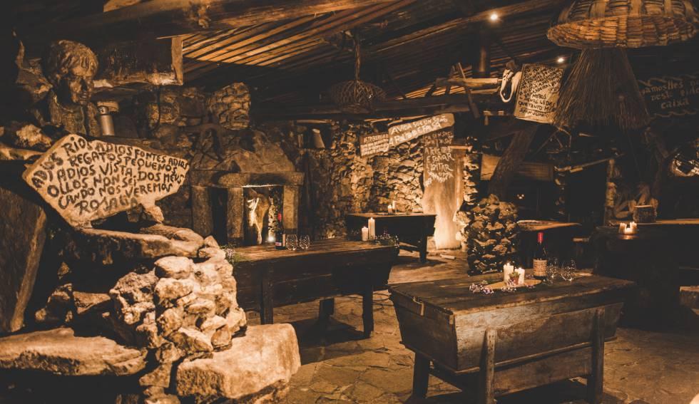 Restaurante Fogar de Santiso, en Teo (A Coruña).