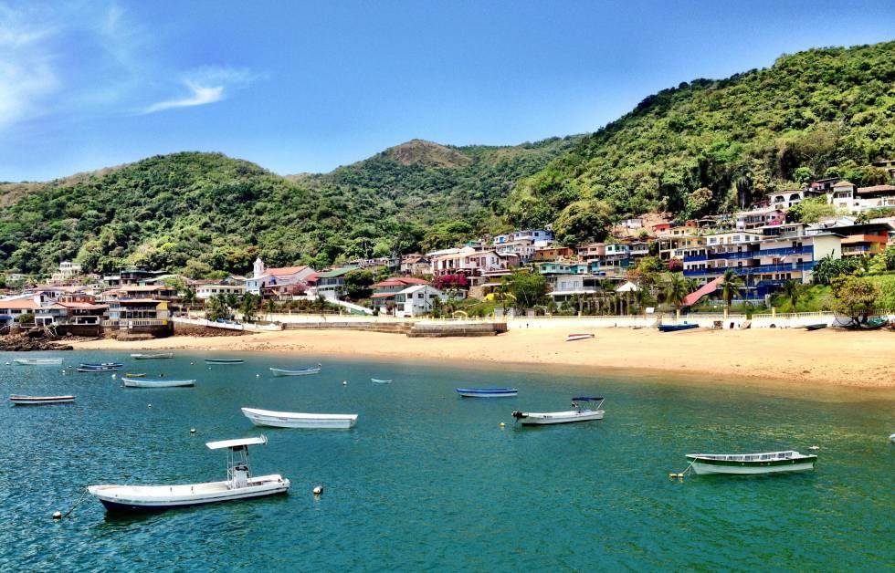 Una de las playas de la isla de Taboga, en Panamá.