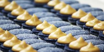 'Macarons' de la Pâtisserie Amandine, en Marraquech.