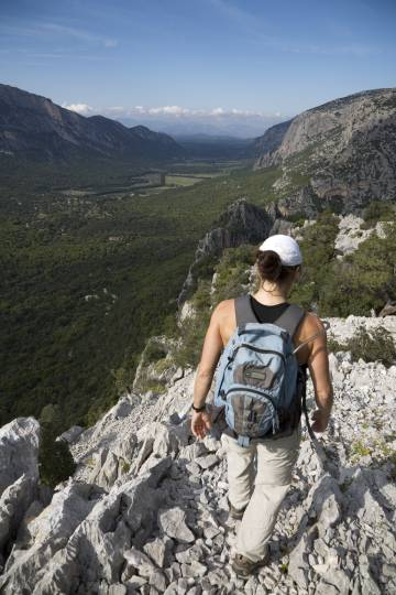 La valle di Lanaittu, in Sardegna.