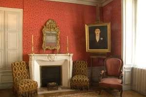 Interior del museo de Proust, en Illiers-Combray.