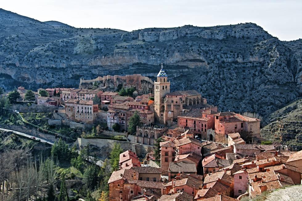 Pueblos De Teruel Mapa De Quemas En Aragon.Estos Son Los Cinco Pueblos Mas Bonitos De Espana Segun Los