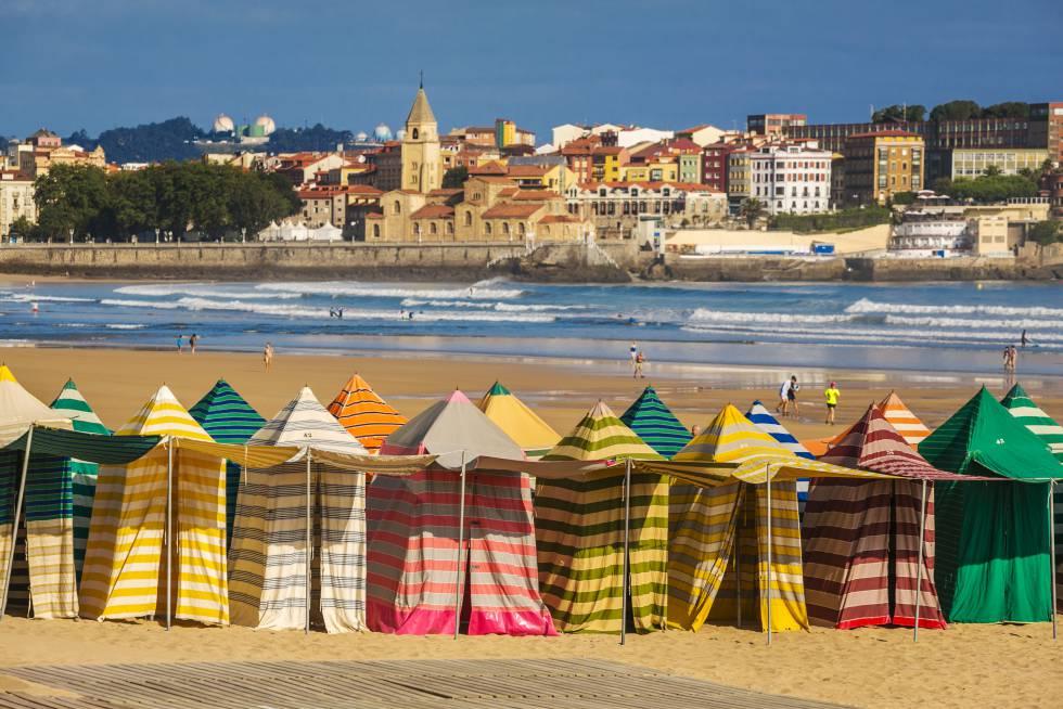 Gijón, ciudad de mar y sidrerías