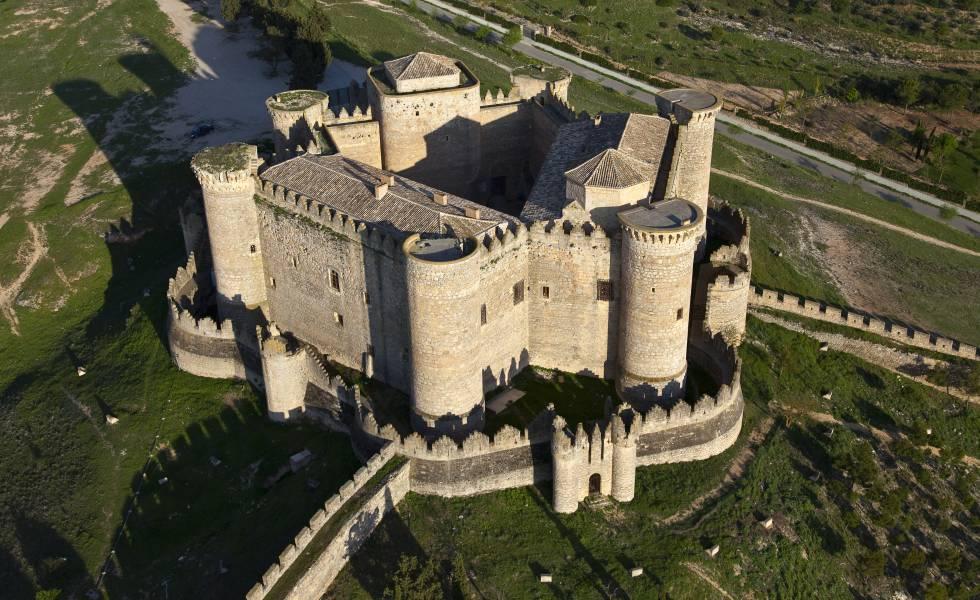 El castillo de Belmonte (Cuenca).