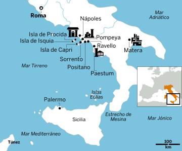 Sem pressa pelo sul da Itália