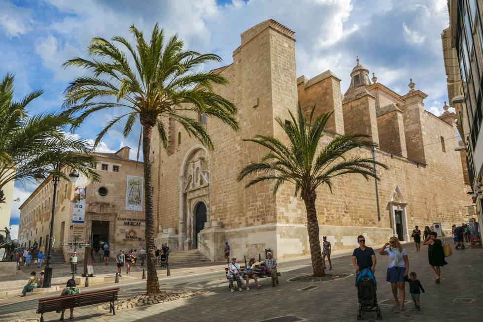 Mahón, el gran puerto de Menorca