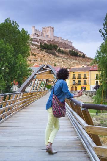 El castillo de Peñafiel (Valladolid)