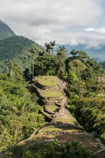 La ciudad perdida de Teyuna, en Colombia.