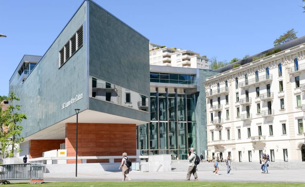 Centro Lugano Arte e Cultura (LAC), en Suiza.