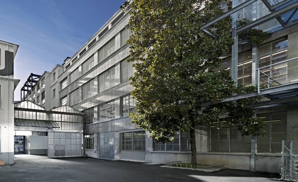 Edificio del museo MAMCO, en Ginebra.