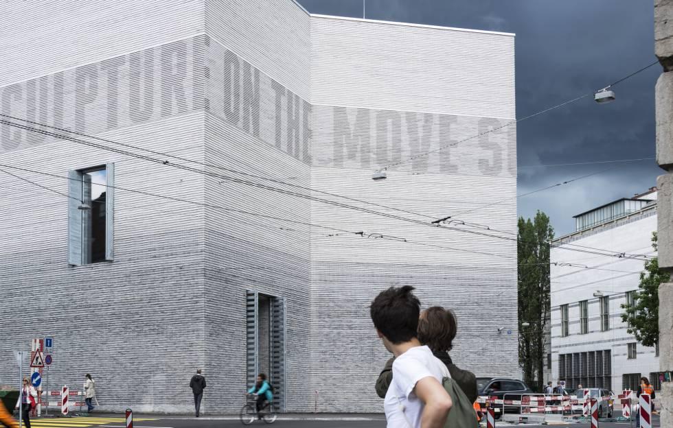 Exterior del Kunstmuseum Basel, en Basilea (Suiza).