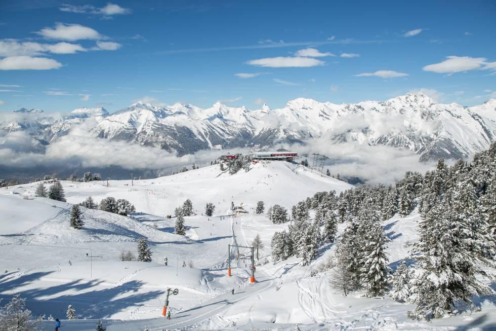 Nendaz, el mejor esquí en el corazón de Suiza