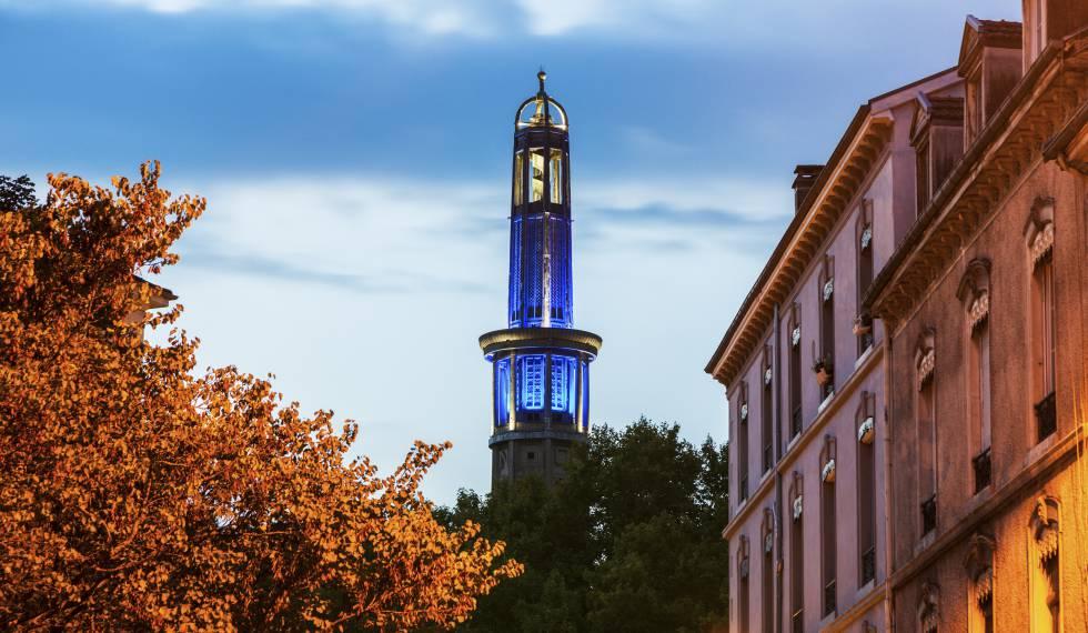 La torre Perret, de Auguste Perret, en Grenoble.