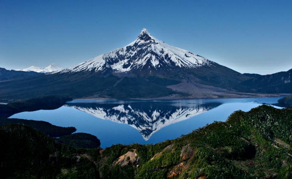 El volcán Corcovado, en la región chilena de Los Lagos.
