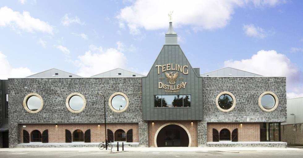 Teeling Whiskey Distillery, en el distrito Liberties de Dublín (Irlanda).