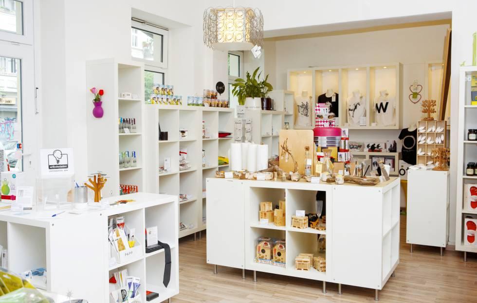 Erfinderladen, un local lleno de pequeños inventos en Berlín.