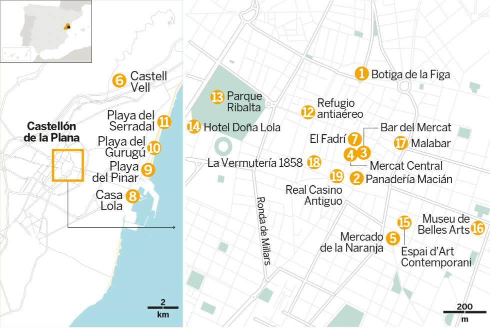 Placeres del Mediterráneo en Castellón de la Plana