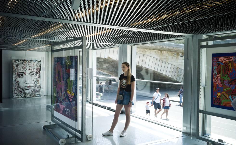 Fluctuart, nuevo centro de arte urbano en París.