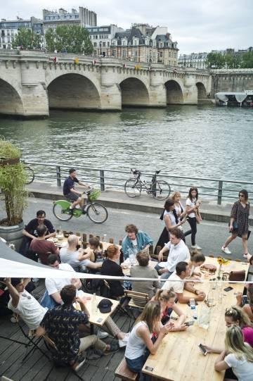 Vista del Pont Neuf, en París.