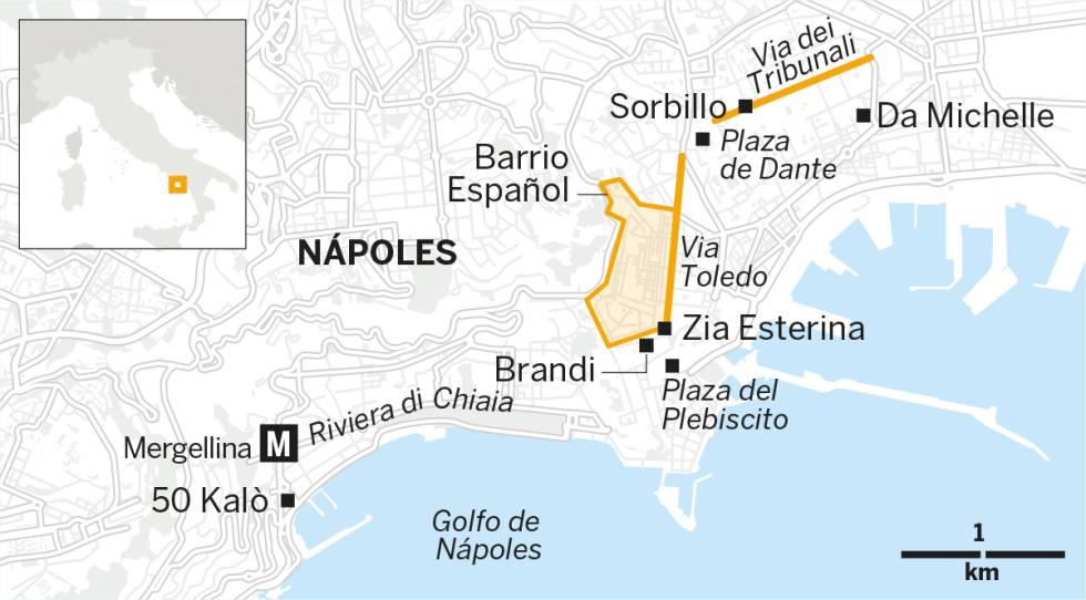 Las mejores pizzerías de Nápoles