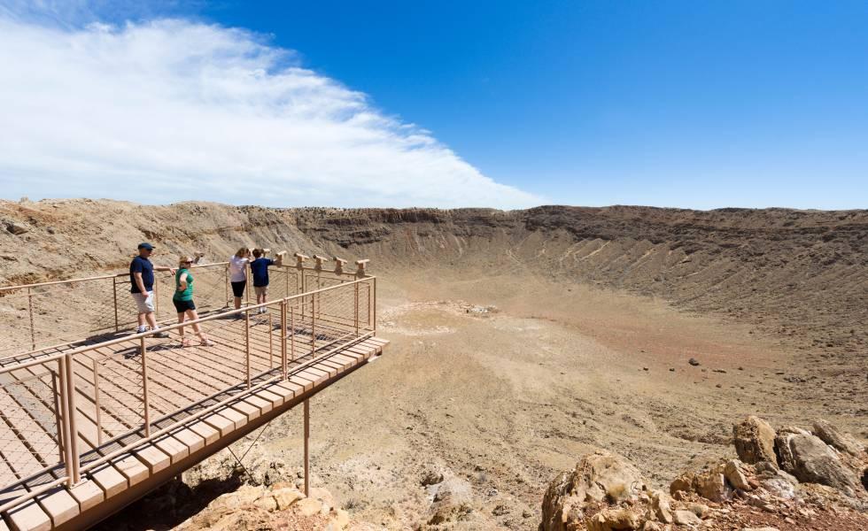 Meteor Crater, en Arizona (EE UU).