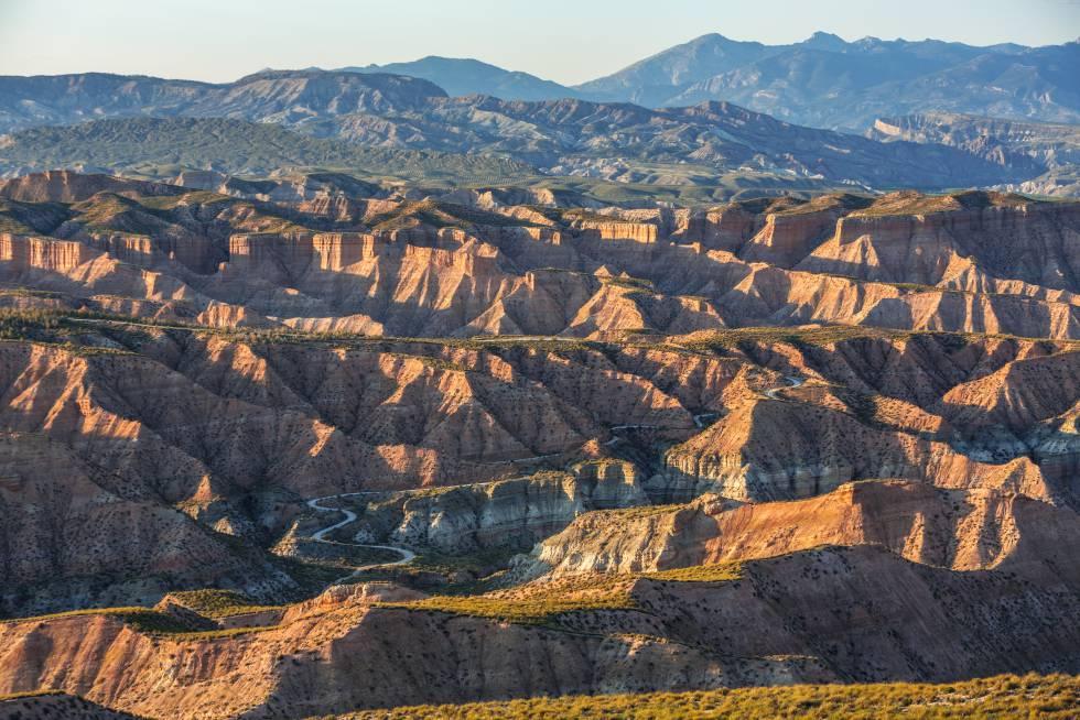 El desierto de Los Coloraos, en la provincia de Granada.