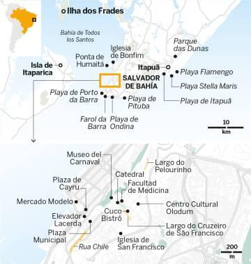 Ritmos y sabores de Salvador de Bahía