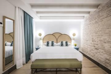 Una de las habitaciones del hotel Casa de Indias by Intur, en Sevilla.