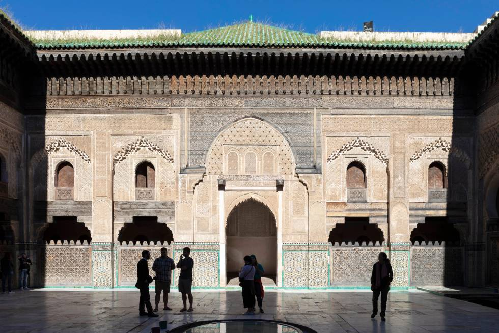 La escuela coránica Bou Inania, en Fez.