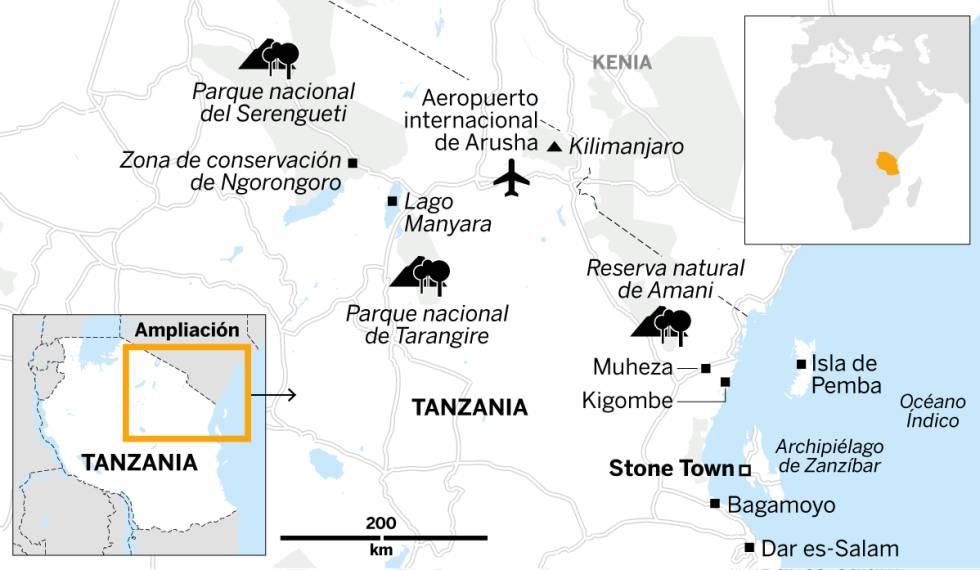 Tanzania para principiantes