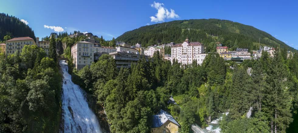 La cascada de 341 metros de Bad Gastein, un pueblecito a una hora en coche de Salzburgo.