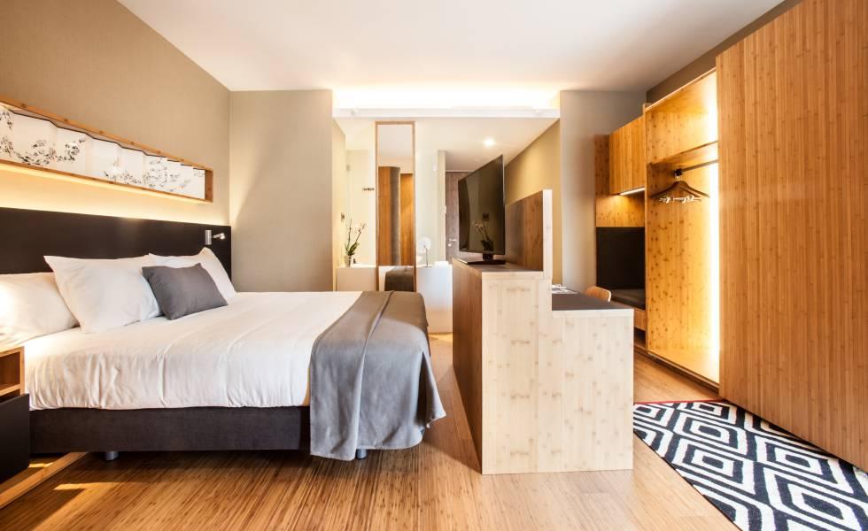 Una habitación del hotel OD Barcelona.