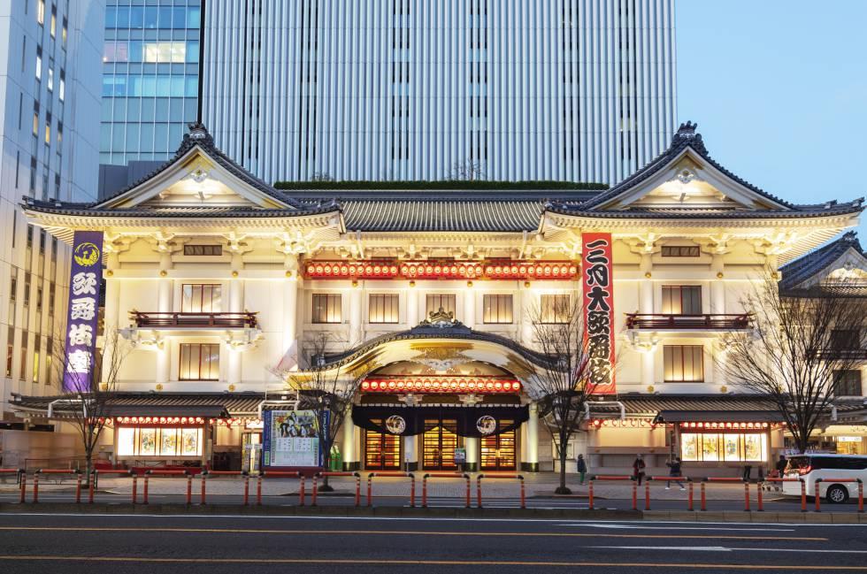 El teatro Kabuki-za, en el barrio de Ginza, en Tokio (Japón). Christian Kober (awl)