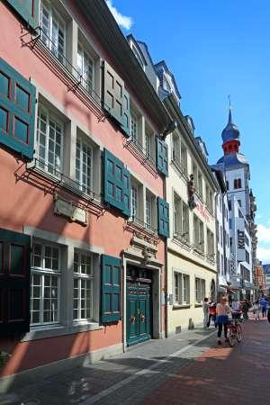 Casa natal del músico en la calle Bonngasse. en Bonn.