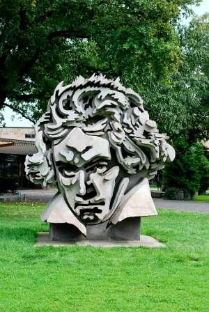 Escultura de Beethoven en Bonn.