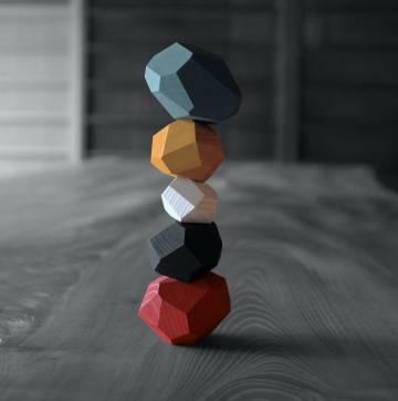 El juego Tumisi-isi ideado por Daimon Kanno, diseñador creativo del estudio japonés A4.