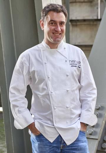 Josean Alija, chef del restaurante Nerua de Bilbao.