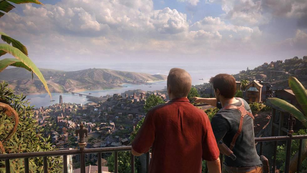 Una captura del videojuego 'Uncharted 4: El desenlace del ladrón'.