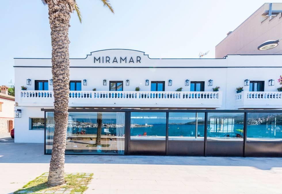 El hotel Miramar, en Llançà (Girona), tiene cinco 'suites' en la primera planta.